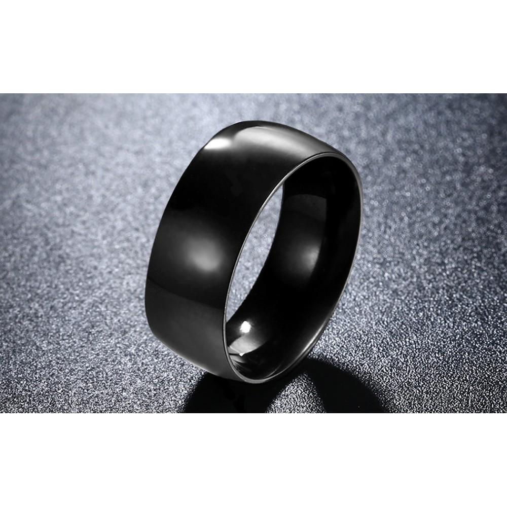 Inel Titanium Black pentru barbati